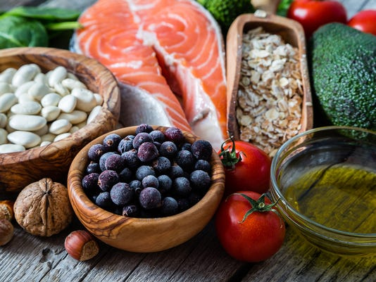 Selection of food that is good for the heart