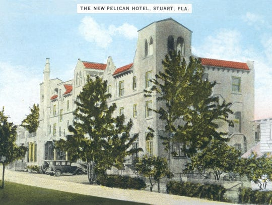 Pelican Hotel in the mid-1920s.