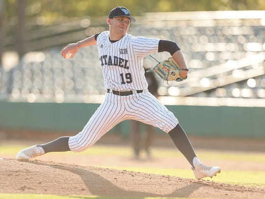 Dylan Spence earned Southern Conference pitcher of