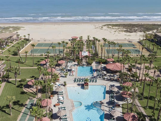 The Isla Grand Beach Resort South Padre Island, formerly the Radisson Hotel.