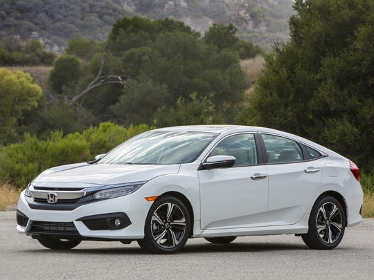 The 2018 Honda Civic.