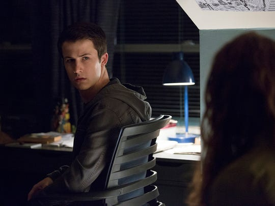 "Dylan Minnette as Clay on ""13 Reasons Why."""