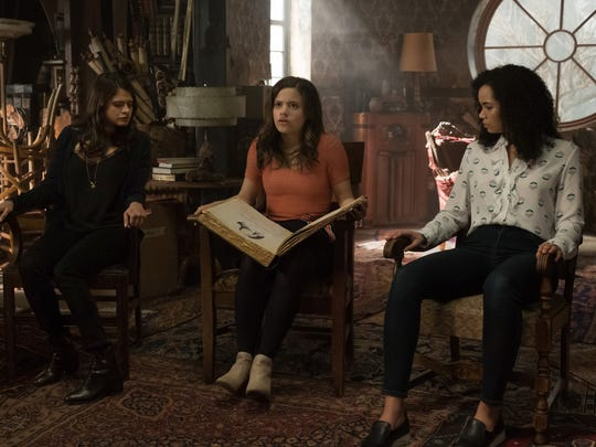 "Melonie Diaz as Mel Vera, Sarah Jeffery as Maggie Vera and Madeleine Mantock as Macy Vaughn in a new generation of ""Charmed,"" coming to CW this fall."