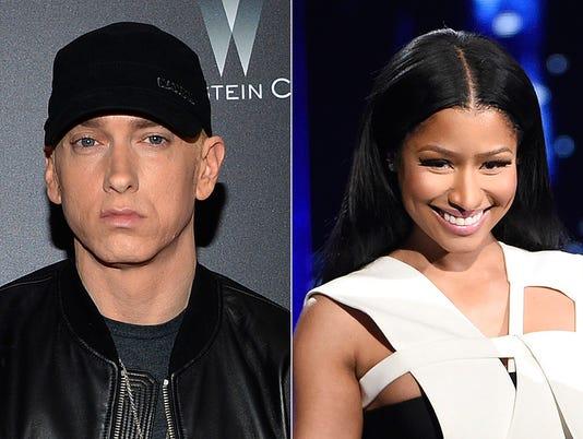 Eminem, Nicki Minaj