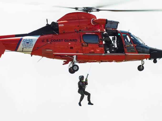 The U.S. Coast Guard will provide a demonstration of