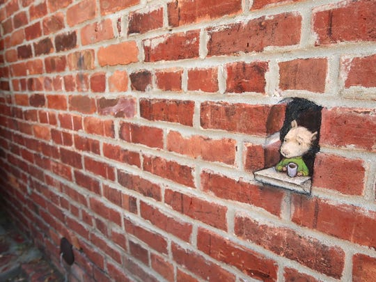 """Carpe Quies"" was a temporary art installation by David"