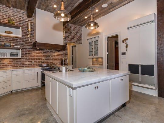 The dream kitchen has designer touches everywhere.