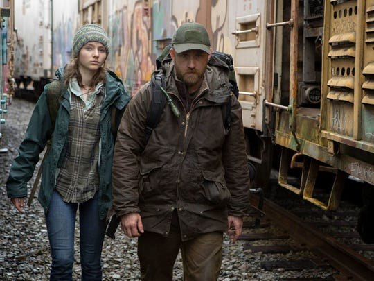 """Leave No Trace,"" starring Ben Foster and Thomasin McKenzie, will screen at 6:35 p.m. Saturday at the Klamath Independent Film Festival."