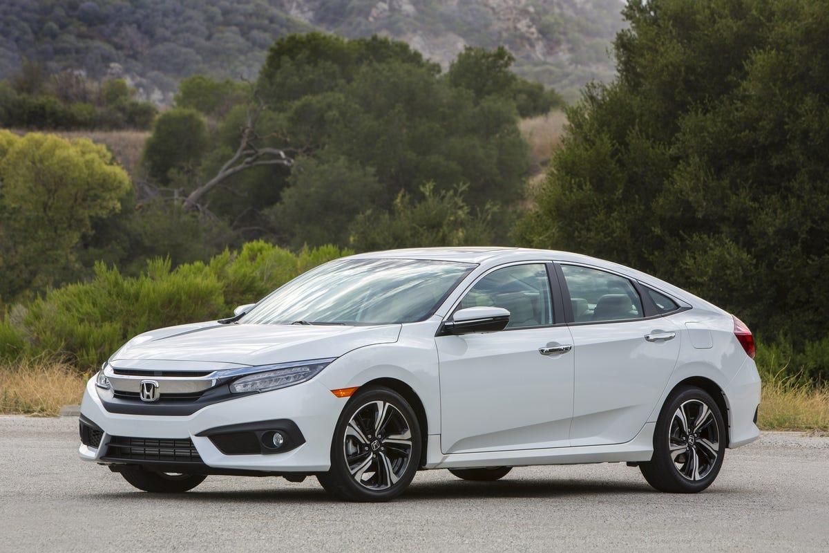The 2018 Honda Civic.