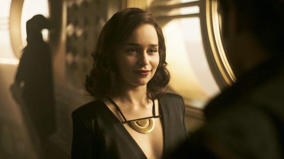Han Solo's love interest Qi'ra (Emilia Clarke) emerges