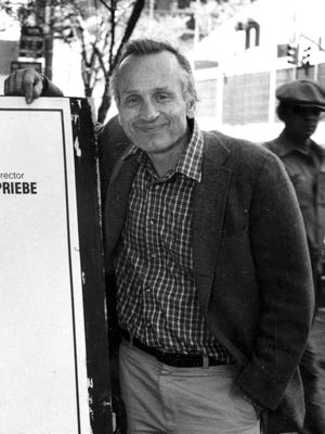 A.R. Gurney, shown in a 1986 photo. The Pulitzer Prize-nominated playwright, whose work offered a window into the inner lives of the upper-crust white Anglo-Saxon Protestants he grew up among, died in New York on Tuesday, June 13, 2017. He was 86.