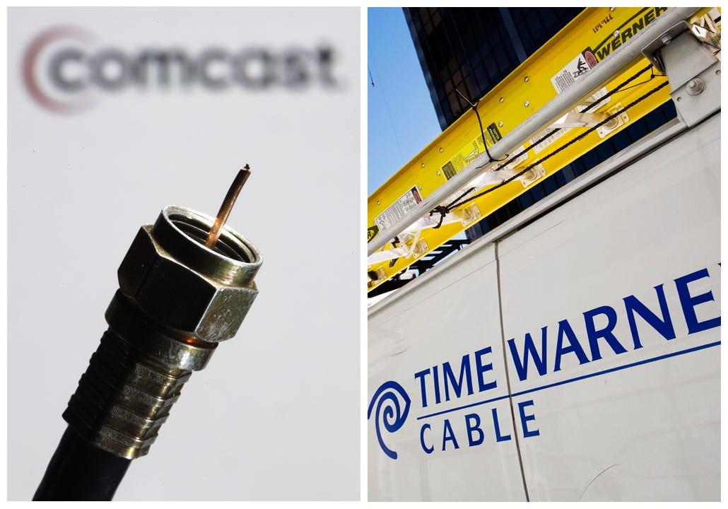 Time Warner Cable Outlet Installation: How Comcast Time Warner Cable deal unraveledrh:usatoday.com,Design