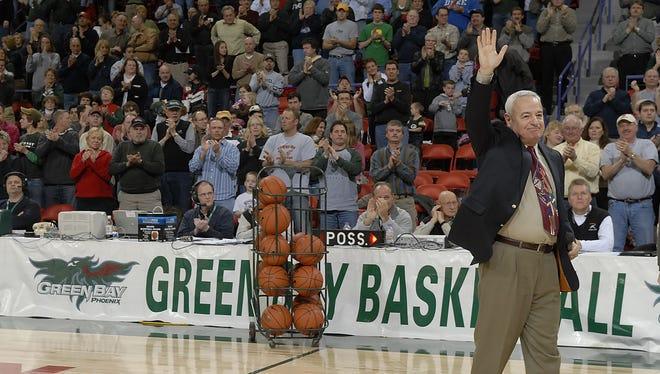 Former UWGB coach Dick Bennett led the Phoenix to its first three NCAA tournaments.