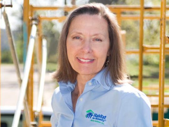 Cindy Griffin executive director, Habitat for Humanity Mississippi Capital Area.