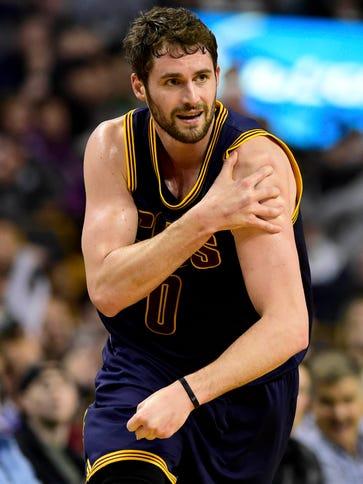 Apr 26, 2015; Boston, MA, USA; Cleveland Cavaliers