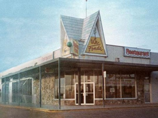 Painting of original location on April 7, 1967.