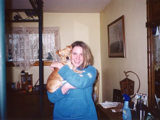 Kostadina Donnelly, 30, was very fond her of her dog.
