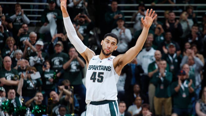 Denzel Valentine has done it all for Michigan State, and the senior is The Associated Press Player of the Year in the Big Ten.