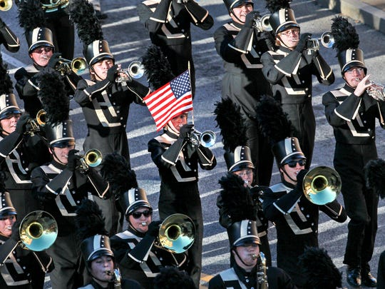 T.L. Hanna Band plays a past Anderson County Veterans Parade.