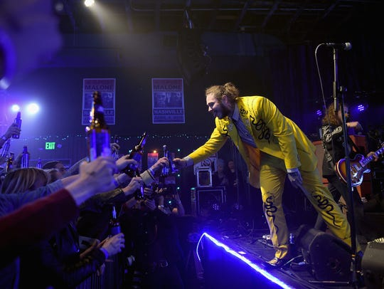 NASHVILLE, TN - APRIL 04:  Post Malone performs onstage
