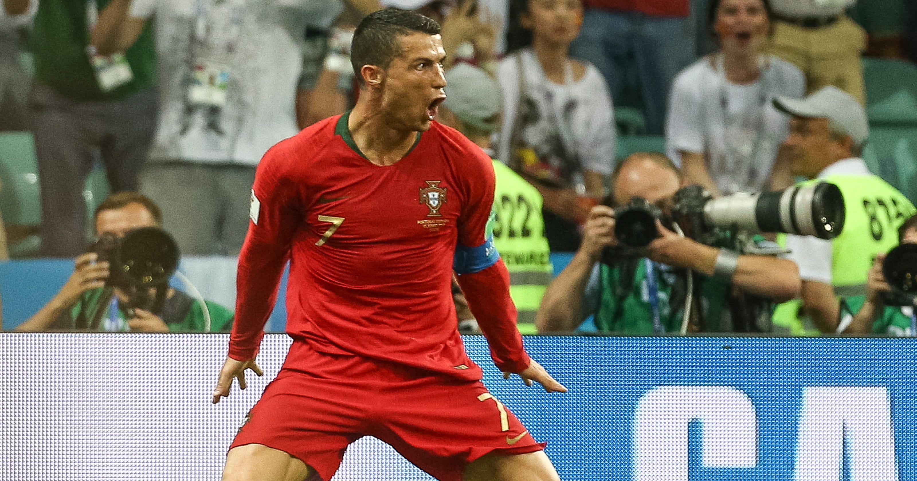 a120cbdc324b World Cup: Ronaldo's hat trick shows why he's loved and hated