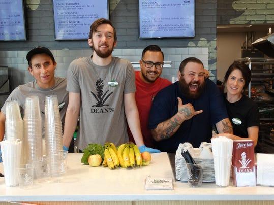 Deans Juice Bar Team