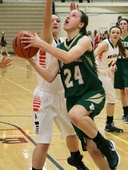 Leah Weslock was the second-leading scorer for a Howell