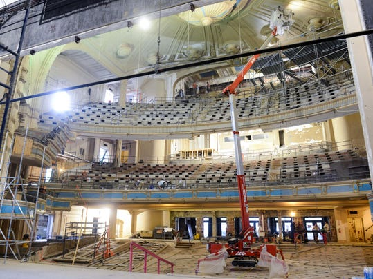 Orpheum renovation preserves, reveals past