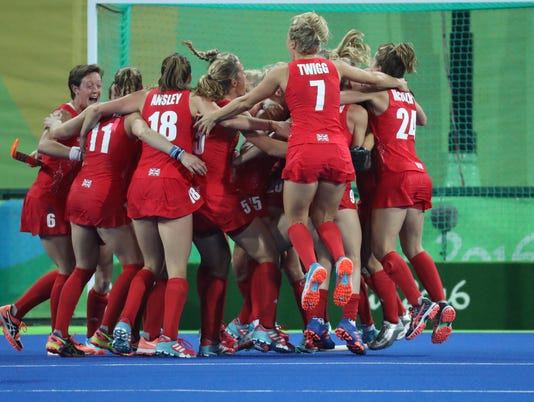 Olympics: Hockey-Women's Gold Medal Match-Great Britain vs Netherlands