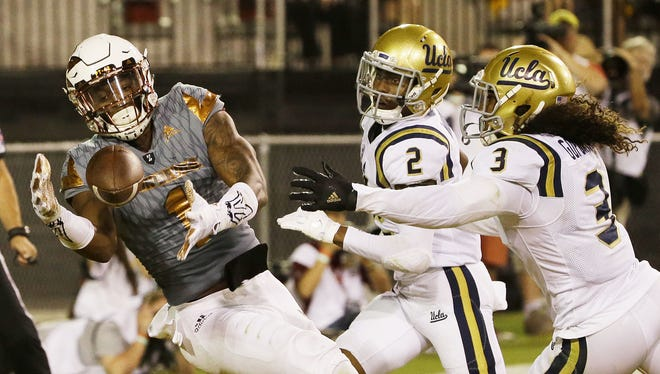 Standout ASU wide receiver N'Keal Harry played his high school football at Chandler High.