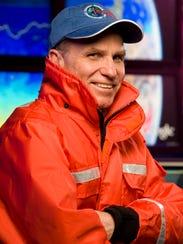 Marine and Coastal Sciences professor Scott Glenn in