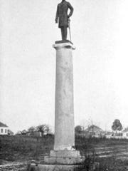 The Robert E. Lee statue resided in two other locations before being placed at Robert E. Lee High School in 1960.