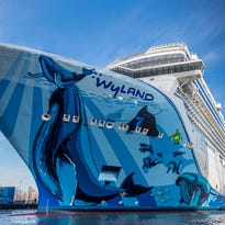Norwegian Cruise Line takes delivery of its biggest ship ever, Norwegian Bliss