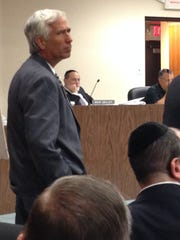 Brian Flannery, a professional planner and engineer, at the Lakewood Zoning Board of Adjustment meeting July 25, 2016.