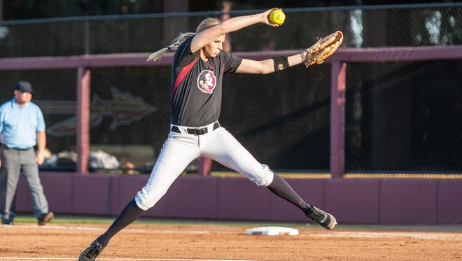 Pitcher Jessica Burroughs will be back in 2016 to lead the Seminoles