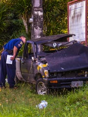 Guam Police Department officers conduct an investigation