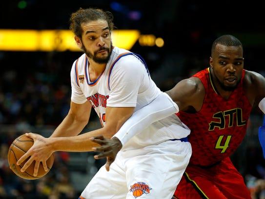 New York Knicks center Joakim Noah has been suspended