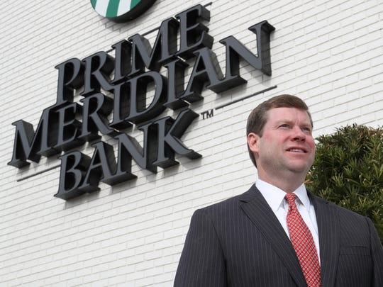 Sammie Dixon of Prime Meridian on Friday, Jan. 26,