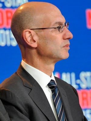 New NBA Commissioner Adam Silver served as David Stern's deputy for years.