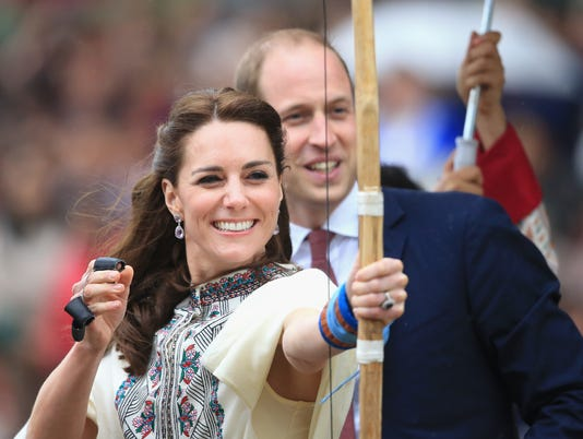 Will and Kate in Bhutan