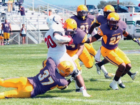 Danny Udero/Sun-News   Recruting is almost finalized for the Western New Mexico University football team. The squad will gear up for its final season in the RMAC.