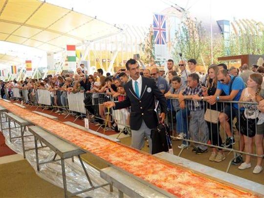 Judge of the Guinness World Records Lorenzo Veltri
