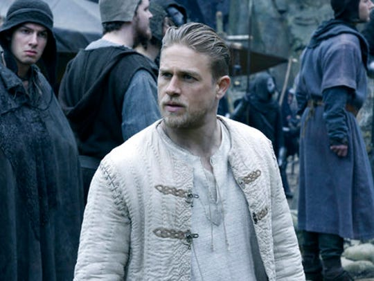 "Charlie Hunnam in a scene from ""King Arthur: Legend"