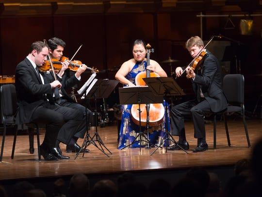 The Calidore String Quartet won the $100,000 grand