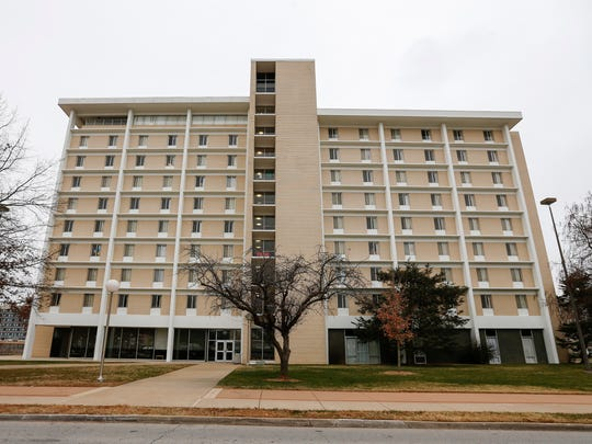 One of the Missouri State University residence halls could be used to house health care workers, if needed. Most MSU students have left the campus.