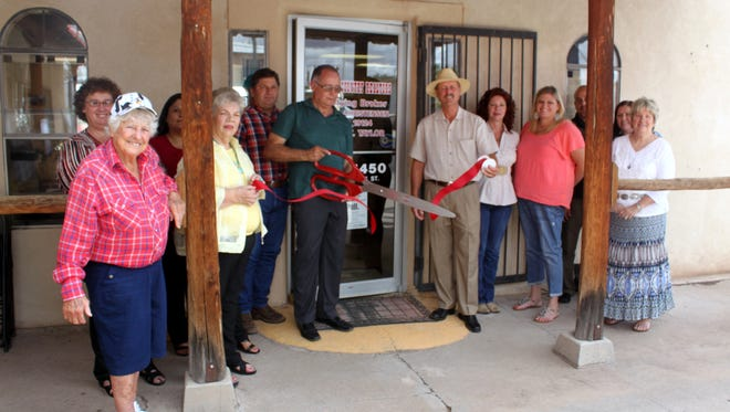 The Deming-Luna County Chamber of Commerce held a ribbon-cutting ceremony at Sun Country REALTORS® new location at 223 E. Spruce St. Owner Frank Christensen and his Sun Country staff treated guests to an open house after the ceremony and had bankers on hand to introduce services and programs in the real estate business. Sun Country REALTORS® is open from 9 a.m. to 5 p.m. on Monday through Friday. Call 575-544-4450.