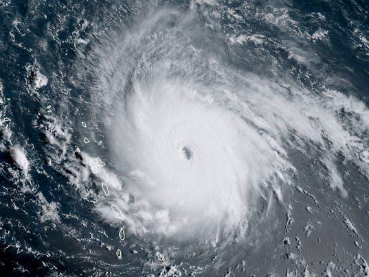 Category 5 Tornado : Hurricane irma only category storms have ever hit the