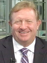 Lee County Commissioner Larry Kiker in 2014.