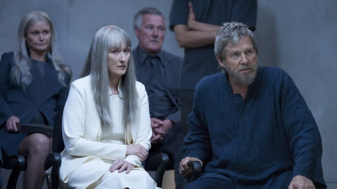 """Meryl Streep and Jeff Bridges star in the film adaptation of Lois Lowry's 1993 children's novel, """"The Giver."""""""