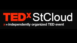 The TEDx St. Cloud logo. The Oct. 12 event will be held at the Paramount Center for the Arts in downtown St. Cloud.
